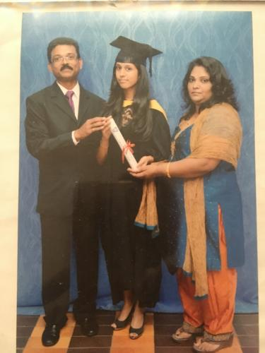 Devashree Graduation