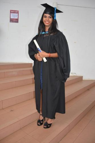 Shivashree Graduation